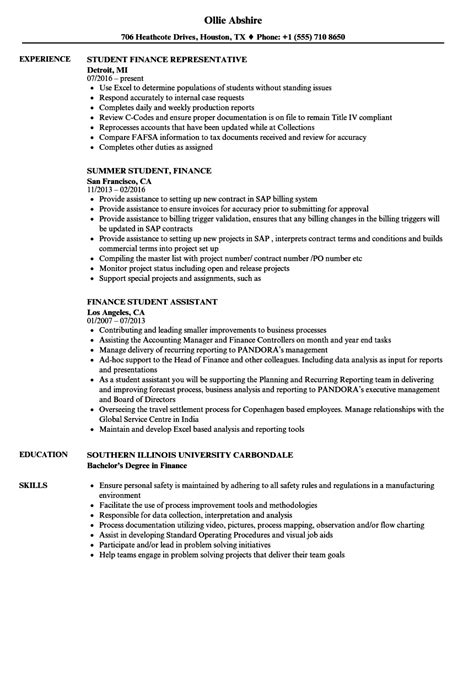 good resume examples for students good resume examples for high