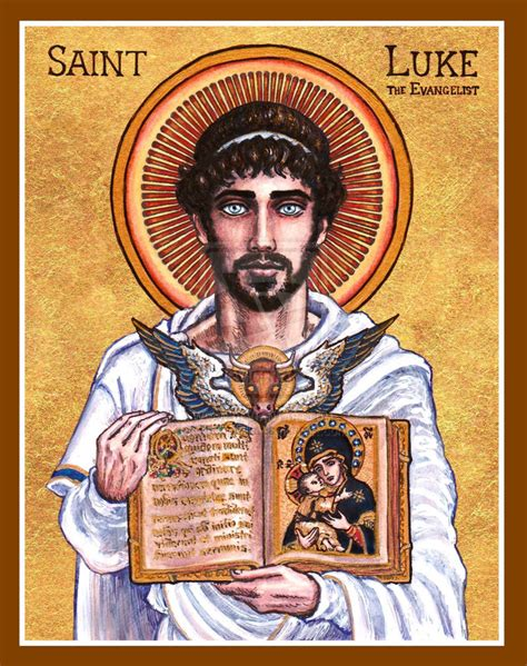 St Luke S Detox by St Luke The Evangelist Icon By Theophilia On Deviantart