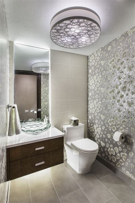 guest bathroom decor ideas with flush mount ceiling lights decolover net kohler briolette glass vessel sink home glass sink downstairs bathroom luxury home decor