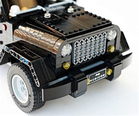 lego jeep wrangler lego jeep wrangler rubicon a block made of blocks technabob