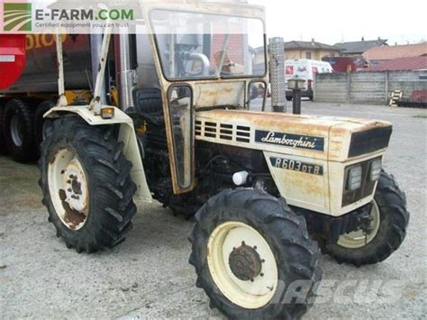 used lamborghini r 603 dt tractors year 1982 for sale