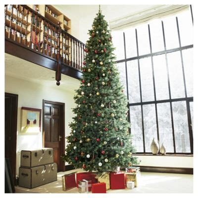 buy 15ft pre lit christmas tree colorado spruce 1000