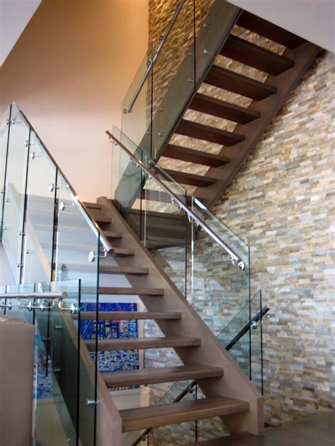 Iron Banisters Why Glass Railings In Calgary Are Becoming A Home