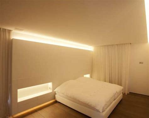 led beleuchtung schlafzimmer indirekte beleuchtung an decke 68 tolle fotos archzine net