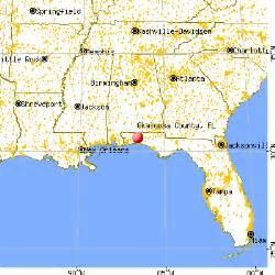 okaloosa county florida map okaloosa county florida detailed profile houses real