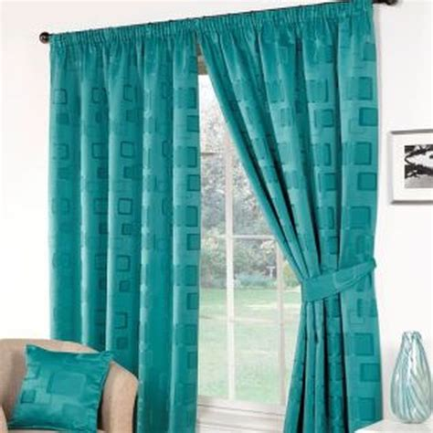 Milano Curtains 90 X 72 Teal Buy Online At Qd Stores