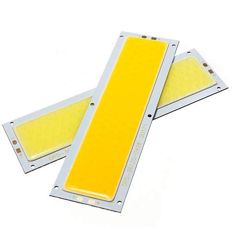 Promo Hpl 10w Cob High Power Led 10 Watt Chips On Board Warm White 1 aliexpress buy cob led panel light chip 10w