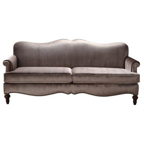 taupe velvet sofa lilla taupe sofa