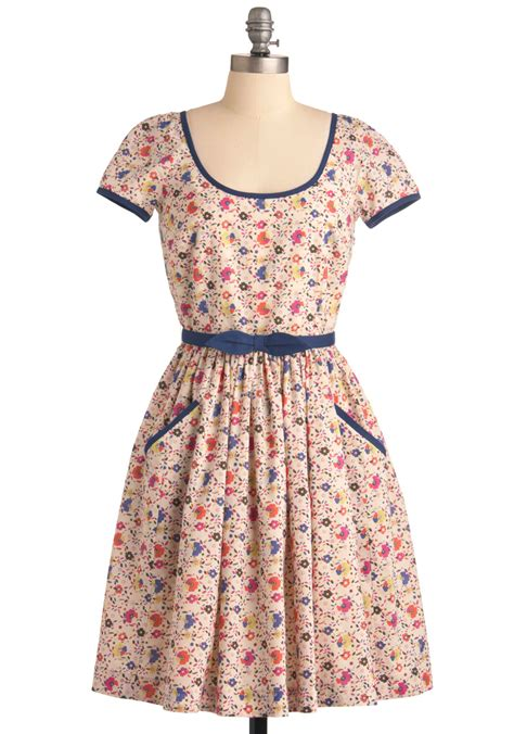 Country Dress emily and fin country homeward dress mod retro vintage