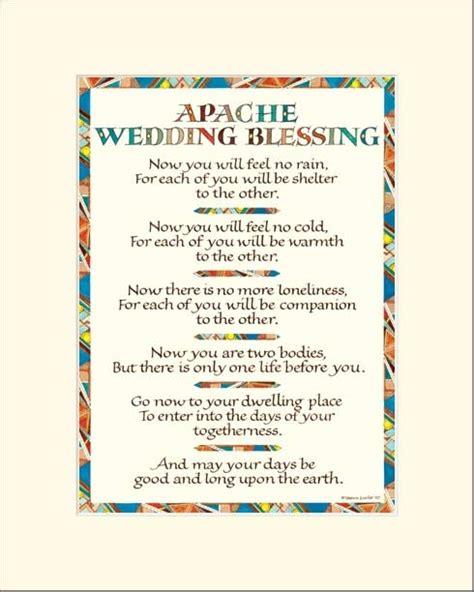 apache indian wedding blessing apache wedding blessing wedding blessing print