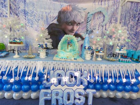 theme of design by frost jack frost birthday party ideas photo 1 of 37 catch my