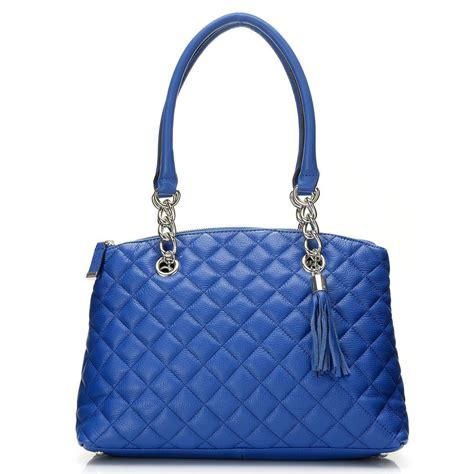 Calvin Klein Quilted Handbag by Calvin Klein Handbags Quilted Leather Quot Geneva Quot Satchel