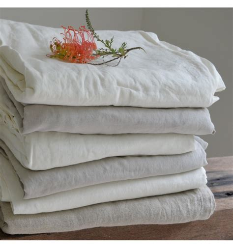 Linen Pillow Cases by Linen Pillow With Oxford Edge In White And