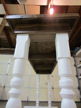 custom farm house laundry folding table  thecarpenterant