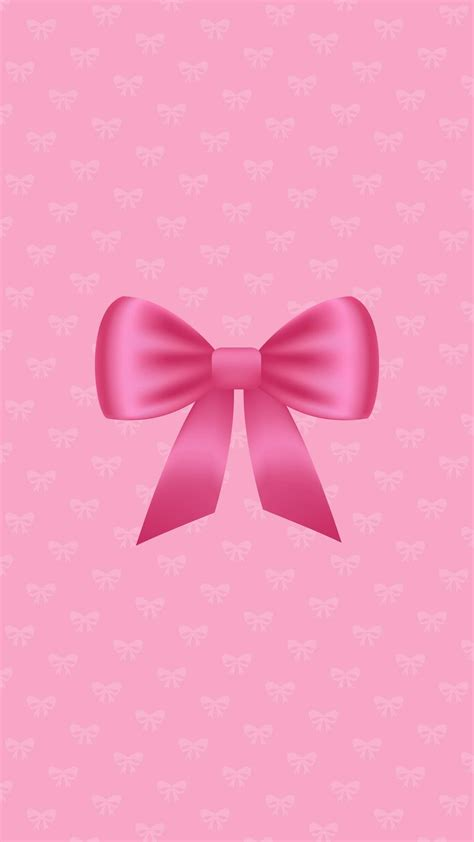 wallpaper with pink bows bow wallpaper bow wallpaper pinterest wallpaper and