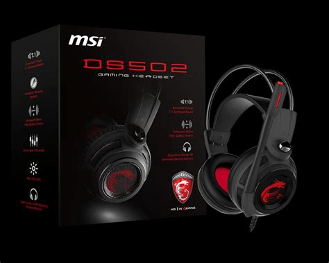 Keenion Headset Gaming Multimedia 3199 Merah ds502 headset gaming tangguh terbaru dari msi