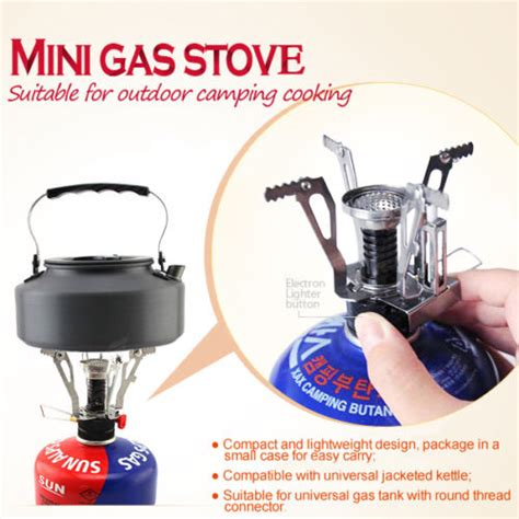 Kompor Gas Portable Outdoor backpacking canister cing stove kompor gas portable jakartanotebook