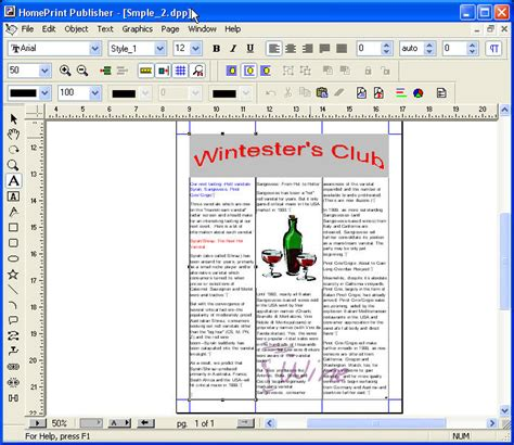 text layout software cristallight software desktop publisher and page layout