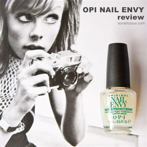 Review Opi Nail Envy by An Easy Way To Get Stronger Nails Opi Nail Envy Review