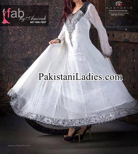 White Frock For Wedding by Fancy White Dress Wedding Umbrella Frocks Churidar