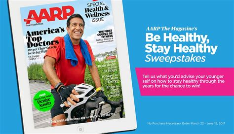 Aarp Sweepstakes 2017 - news on medicare insurance healthy living brain health