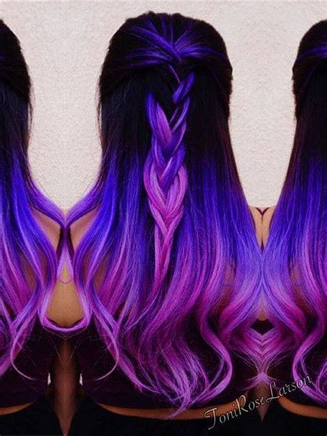beautiful dark colors 25 best ideas about unique hair color on pinterest
