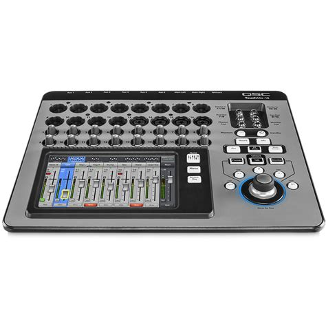 Mixer Digital Qsc qsc touchmix 16 compact digital mixer