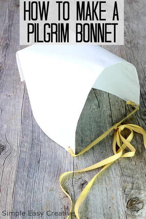 How To Make A Bonnet Out Of Paper - how to make a pilgrim 100 images preschool