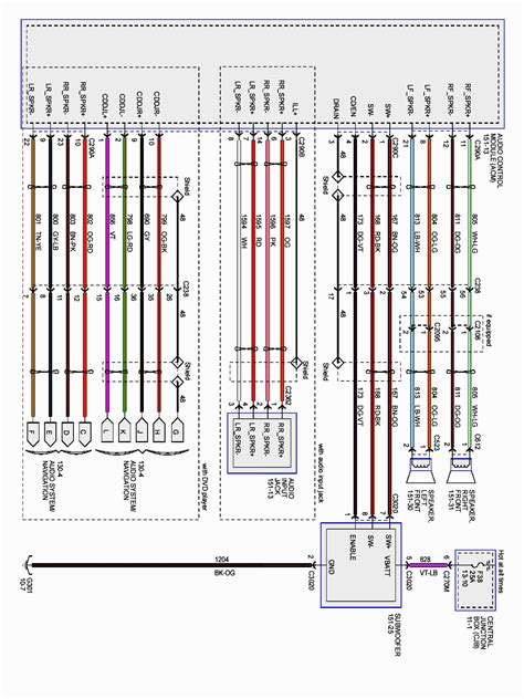 ford  spark plug wire diagram volovetsinfo