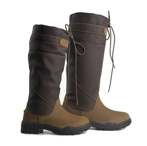 County Boots Brown brogini childrens derbyshire country boots brown from