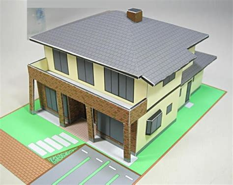1000 Images About Papercraft Houses On Model - papermau japanese house paper model in 1 100 scale by