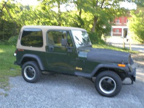 1995 jeep limited edition sell used 1995 jeep wrangler limited edition in modena
