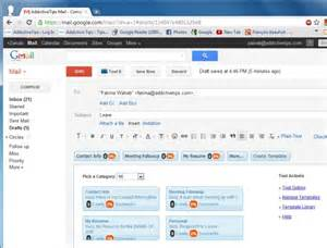 Email Template Gmail by Create Email Templates Easily Send Repetitive Emails