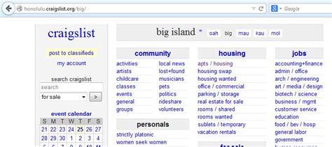 craigslist boats big island craigslist hawaii dating