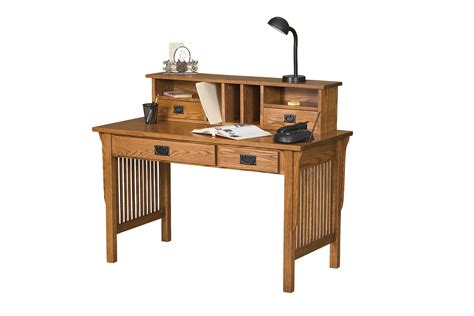 mission style writing desk town country furniture