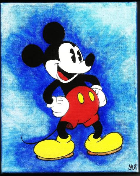 painting mickey mouse mickey mouse painting by verseapetrova on deviantart