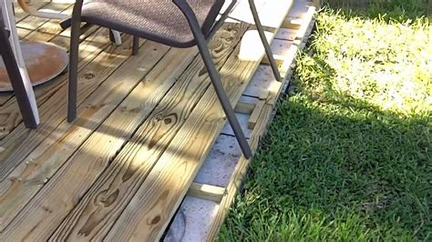 how to build a backyard deck deck build march 20122 mp4 youtube