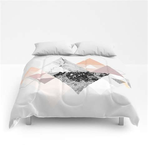 graphic comforters cozy on up with society6 design milk