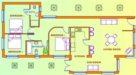 free house plans uk pdf 3 bed house plans uk plans free