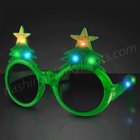 led glitter christmas tree shades by flashingblinkylights com
