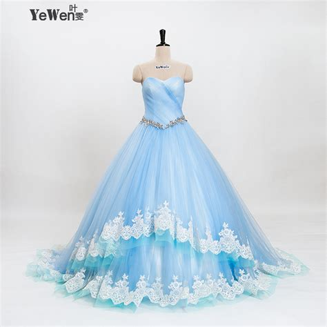 Light Blue Wedding Dress by Buy Wholesale Light Blue Wedding Gown From China