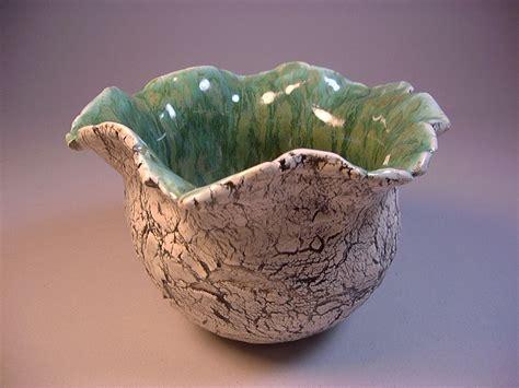 ceramic art pottery pinch pot planter vase candy by