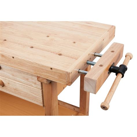 drawer hardwood workbench