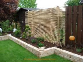 gartengestaltung reihenhaus bilder bildergallery bambus sichtschutz