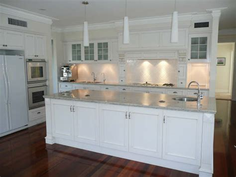 Galley Style Kitchen Design Ideas - french provincial kitchens brisbane french country kitchen design