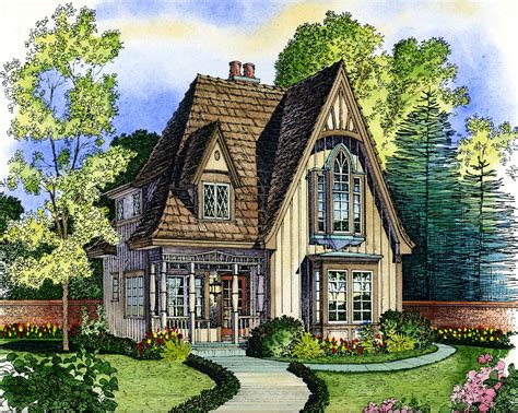 cottage home plan moss stone cottage house plan house plans garrell