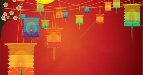 new year lantern festival ppt powerpoint templates free china free