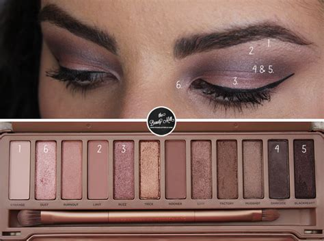 Naked4 4 Eyeshadow Decay 3 s day makeup 1 ft 3 palette the milk