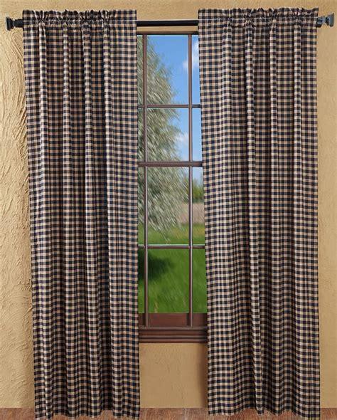 plaid curtain panels bingham star plaid curtain panels