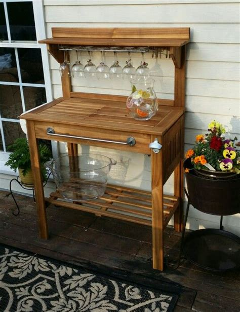 outdoor indoor bench for bar 17 best images about potting bench bar on pinterest